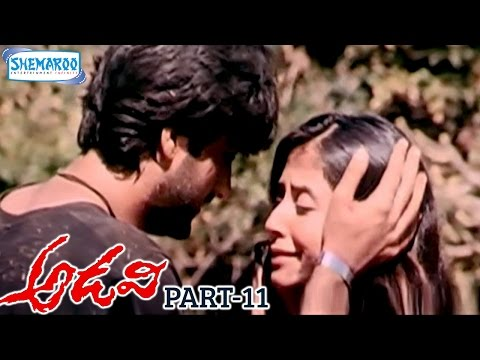 Adavi Telugu Full Movie | Urmila | Sunil Shetty | RGV | Jungle | Part 11 | Shemaroo Telugu