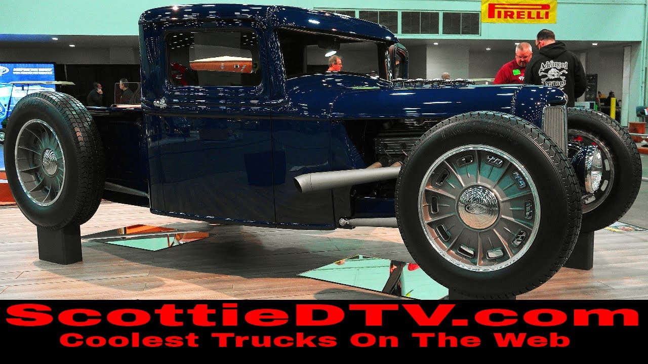 1934 Ford Pickup Hot Rod \