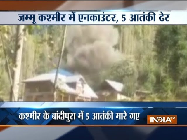 5 LeT terrorists killed in Jammu and Kashmir's Bandipora #1