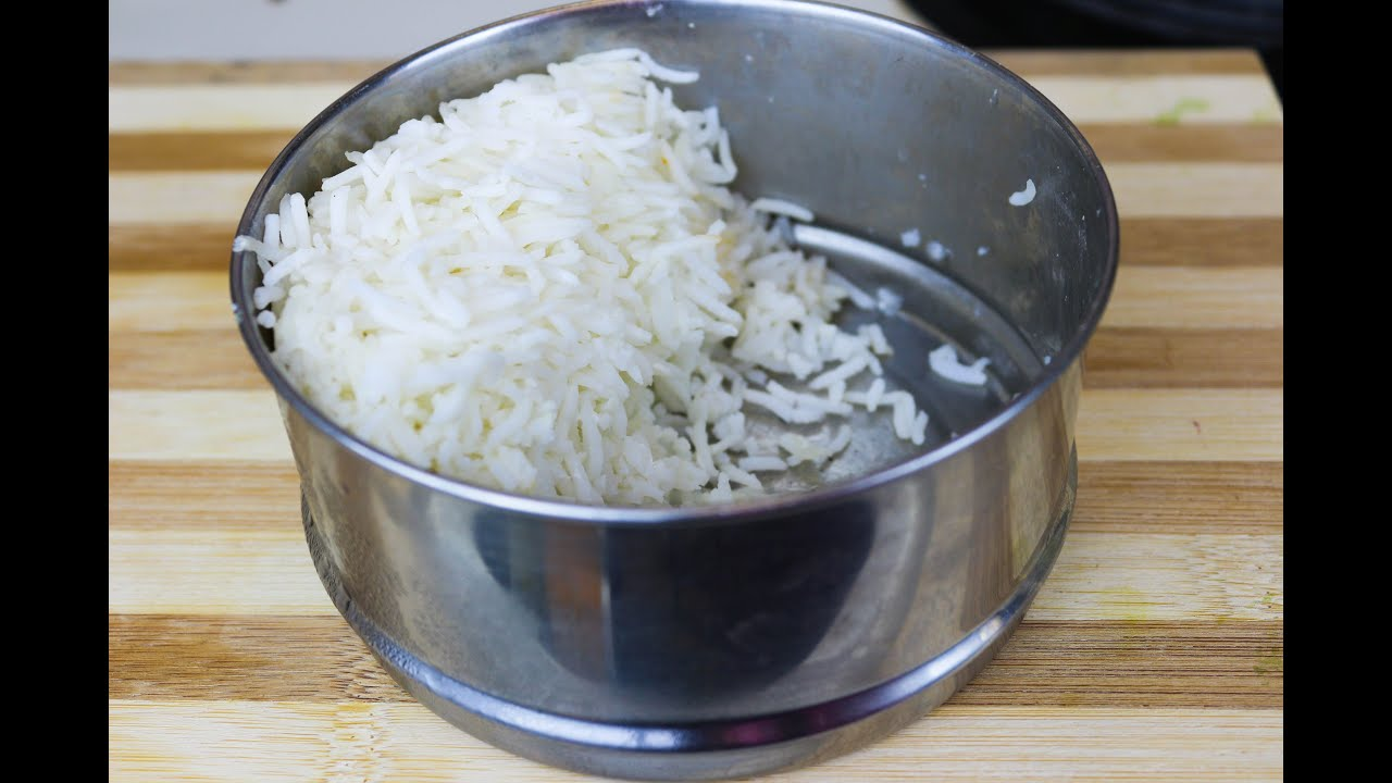 How To Soft Leftover Hard Refrigerated Rice Into Fresh And Soft Rice   Trick Of Cooking  Youtube