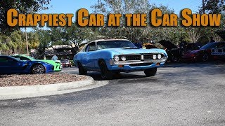 Bringing A Crappy Car to a Car Show   Torino Time