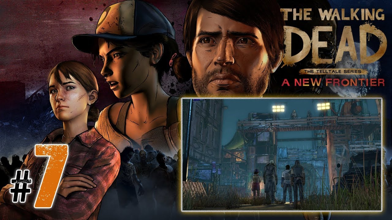 """Let's Play: The Walking Dead NF odc. 7 – Epizod III [2/3] – """"Porzuceni"""""""