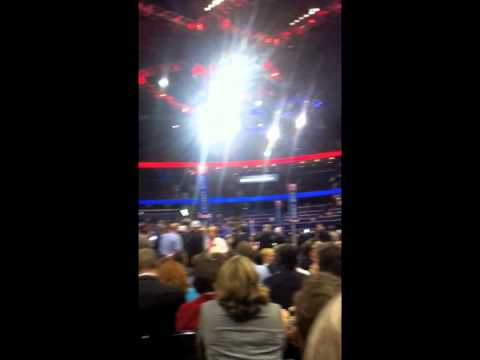 """2012 GOP Convention - """"As Maine Goes..."""" Walkout"""