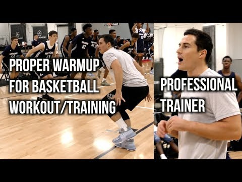 Proper Warmup For Basketball Workout/Training Feat. PROFESSIONAL TRAINER PJF Performance