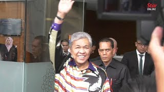 Umno president Zahid to be charged on Friday