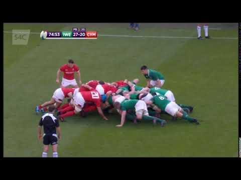 Ireland v Wales 2018 - Final scrum penalty