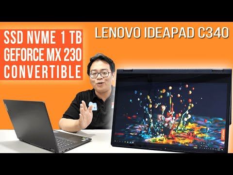 Laptop 2-in-1 Super Lengkap: Review Lenovo IdeaPad C340 - Indonesia