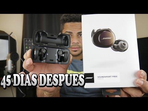 Bose Sound SportFree Review Español 45 días Después