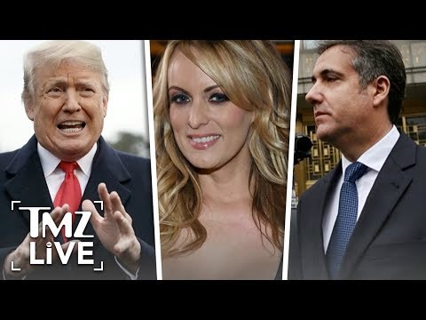 Trump Ordered Stormy Daniels Hush Money | TMZ Live