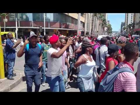 Free Bonginkosi March in Durban