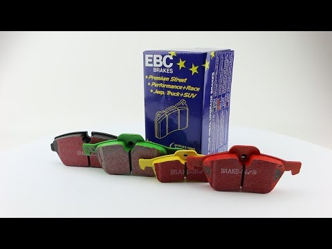 EBC Brake Pads For MINI Coopers R50, R52, R53