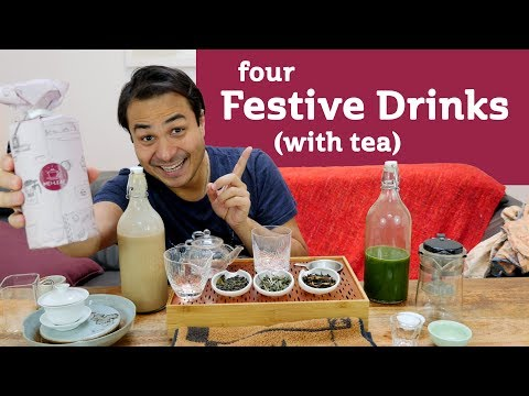 Festive Drinks (with Tea) - VEGAN RECIPES