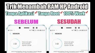 vuclip Cara Menambah Memori RAM Internal HP ANDROID di Semua Merk & Type Android ☑️