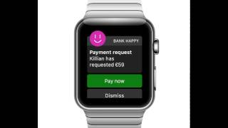 Apple Watch banking app