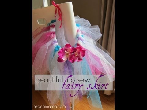 How to make a no sew fairy skirt or a fancy tutu crafts how to make a no sew fairy skirt or a fancy tutu crafts teachmama youtube solutioingenieria