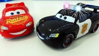 Мультики про МАШИНКИ Тачки Маквин Полицейская Машинка Видео для детей Disney Cars 3 Тачки 3