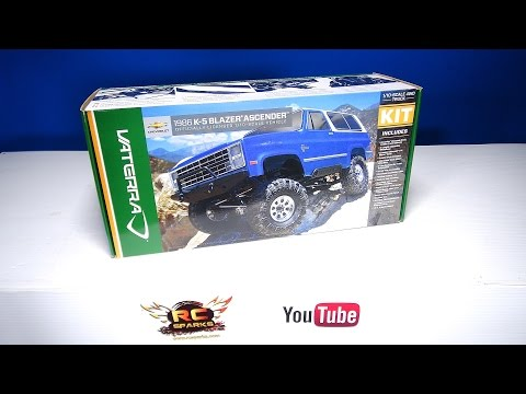 RC ADVENTURES - Unboxing the Vaterra 1/10 1986 Chevrolet K-5 Blazer Ascender 4WD Kit - Build Video 1