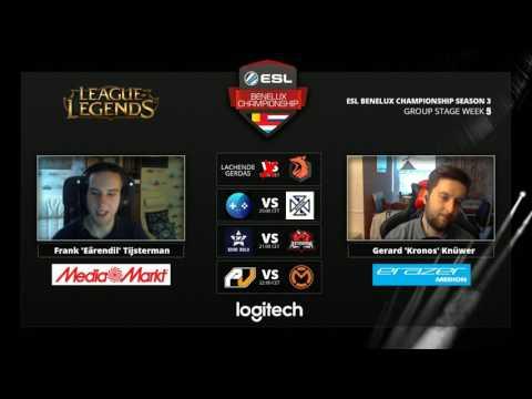 LoL - Team Echo Zulu vs Asterion Amsterdam - Week 5 - ESL Benelux Championship