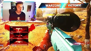 First 'SNIPING ONLY' COD WARZONE Victory...
