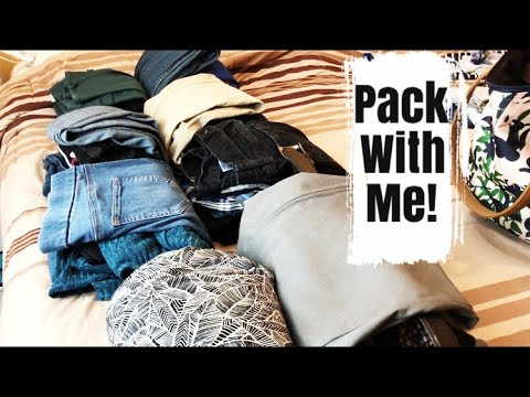 How to Pack for a Weekend Away | 3 night retreat with husband and baby