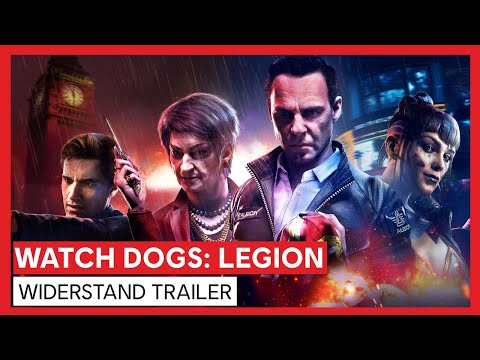 Watch Dogs: Legion - Widerstand Trailer   Ubisoft [DE]