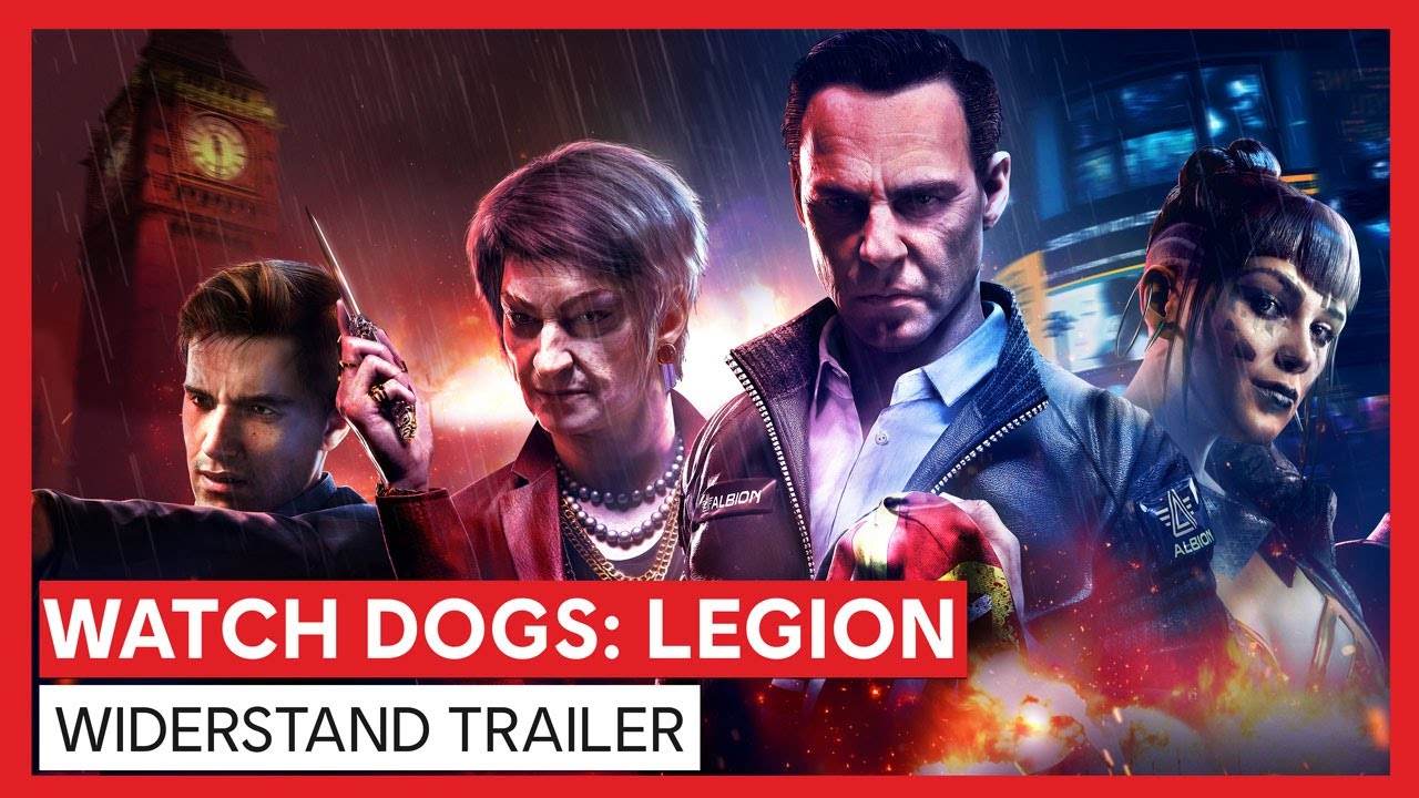 Watch Dogs: Legion - Widerstand Trailer | Ubisoft