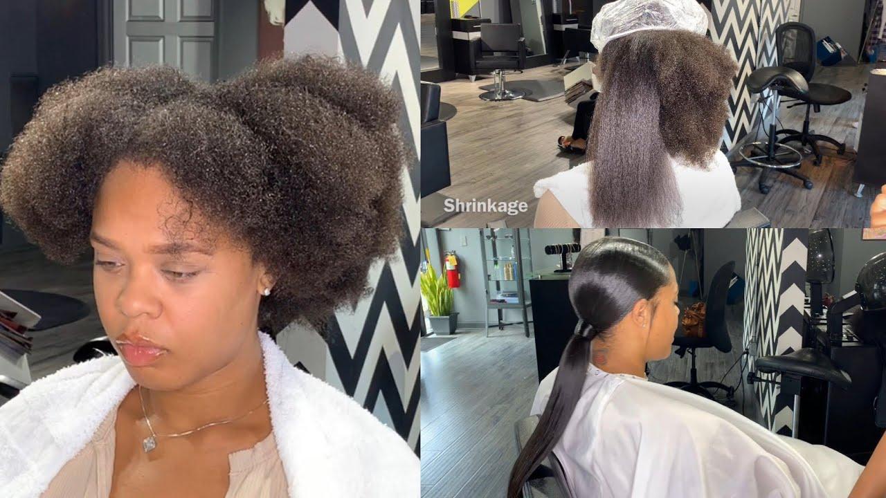 Ponytails have become a salon favorite