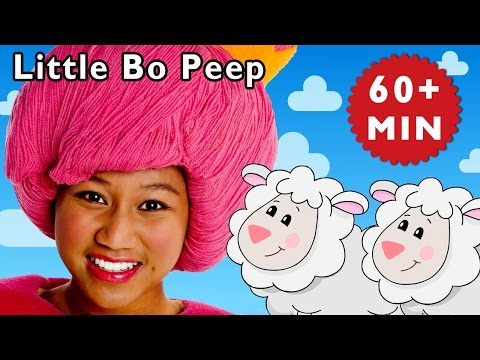 Little Bo Peep and More | Nursery Rhymes from Mother Goose Club!