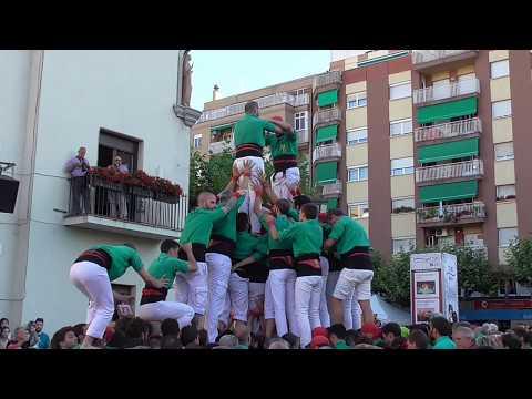 """Castellers de Sabadell a Barberà del Vallès - """"2d8f""""   (Festa Major Barberà 2017)"""