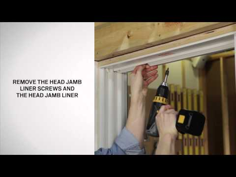 How to Replace Balance and Jamb Liner for Narroline Windows