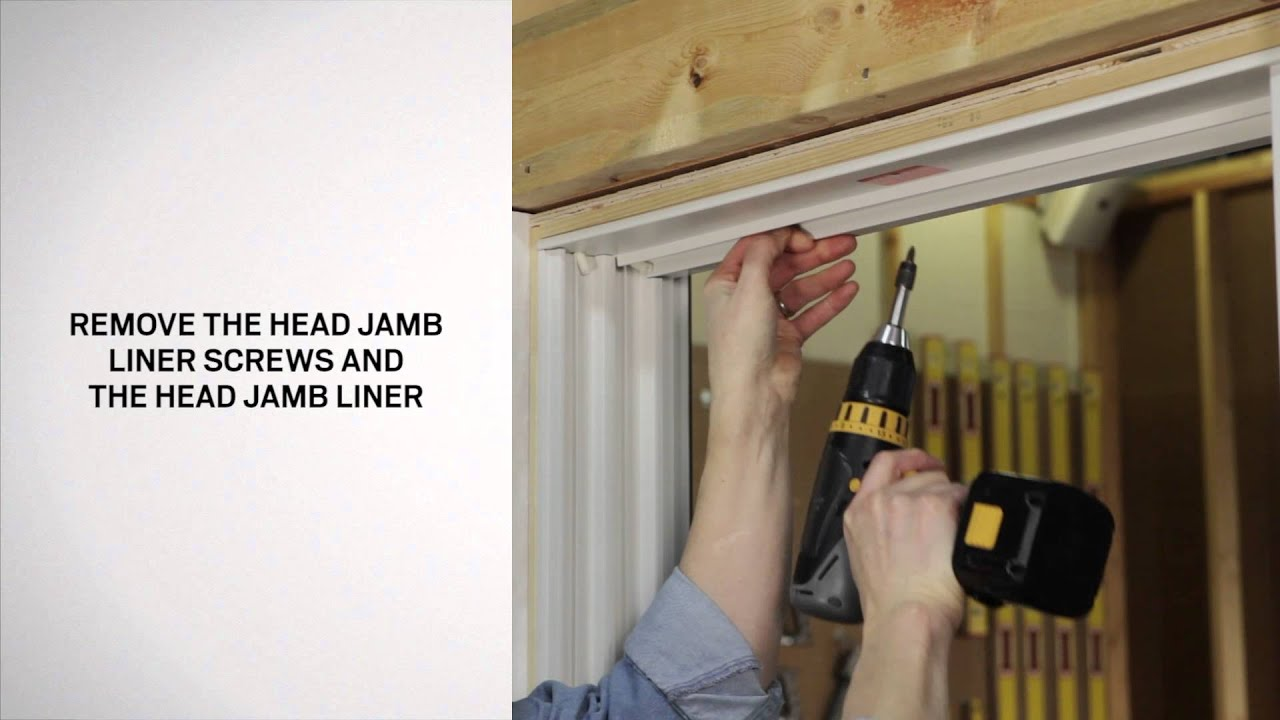 Replacing The Balance And Jamb Liner On Narroline Windows