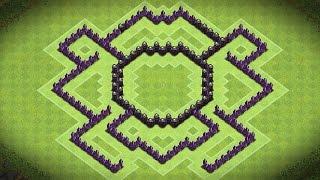Clash Of Clans - Epic Town Hall 7 Trophy/clan War Base (spider) - Speedbuild