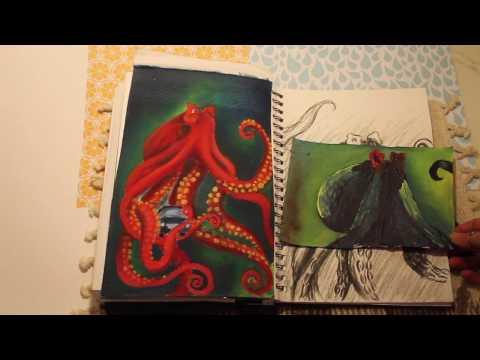 A2 Art Exam Unit 3 Flip through (2017)