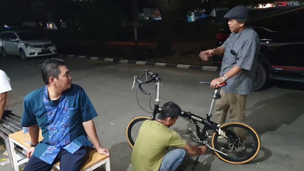 Upgrade Sepeda Lipat Jadi Sepeda Balap Hahaha Youtube