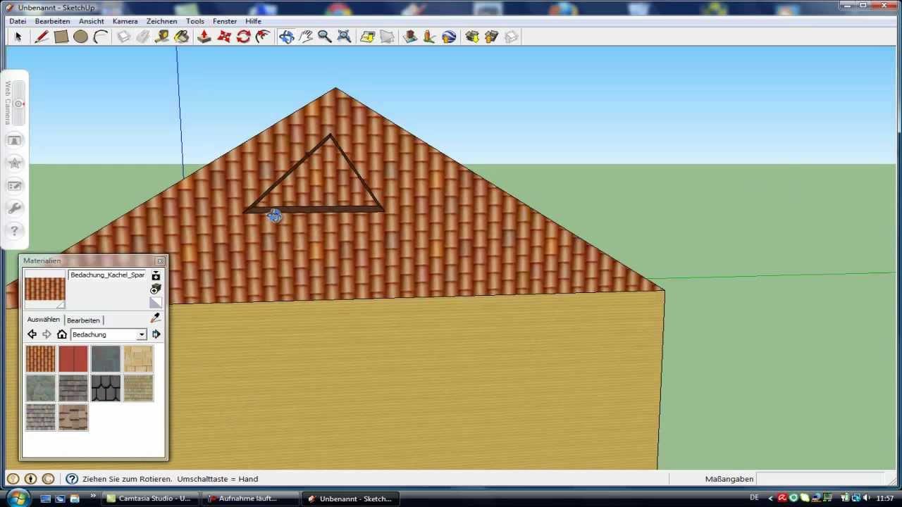 tutorial google sketchup 8 part 1 wie baue ich ein haus youtube. Black Bedroom Furniture Sets. Home Design Ideas