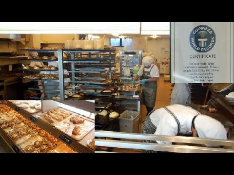 World Record Bakery in Japan!