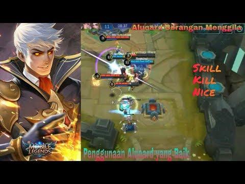 Penggunan Alucard dengan Skill yang baik - Game Play Mobile legends