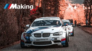 The ///Making Of : le tournage du touge avec les BMW Banet Sport