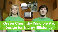 Design for Energy Efficiency - Green Chemistry Principle #6