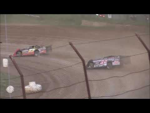 Late Model Heat #2 from Brushcreek Motorsports Complex, August 3rd, 2018.