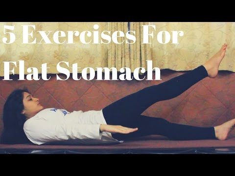 5 Simple Exercises For Flat Stomach