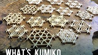 Japanese traditional technique KUMIKO