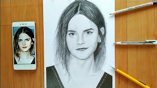 Drawing  Emma Watson
