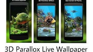 3D Animated Parallox HD Live Wallpaper - Android | Paid Version For Free (Hindi)