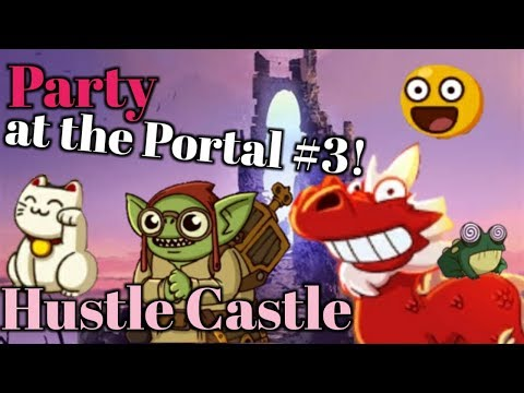 """Hustle Castle -""""No Heal Challenge"""" - Party at the Portal #3 !   Book 5 - Chp 36  """