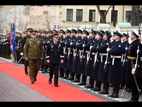 Vyriausiojo JAVir NATO pajėgų Europoje vado gen. Scaparrotti vizitas Lietuvoje