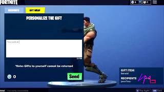 GIFTING COMING SOON! - LEAKED CONFIRMED IN FILES - FORTNITE BATTLE ROYALE