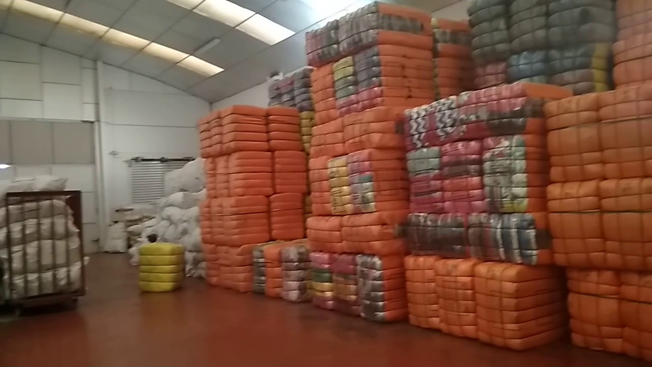 d3a21f764da Wholesale containers of used clothing in bales - YouTube