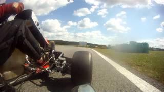 Video karting  Ancenis avec caméra GOPRO