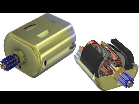 SolidWorks Tutorial #267 : DC motor